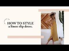 Simple Ways to Style a Slip Dress Clothing Patterns, Sewing Patterns, V Neck Black Dress, Diy Fashion Hacks, Dress Tutorials, Diy Sewing Projects, Clothing Hacks, Diy Dress, Sewing For Beginners