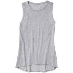 Shiva Tank 3 - Airy cotton adds a chic edge to this timeless muscle tee silhouette.