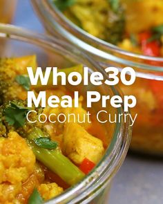 Whole30 Coconut Curry Meal Prep Recipe by Tasty