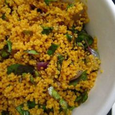 Tomato Couscous with Basil Recipe