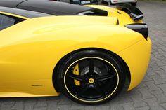 Yellow/Black Nissan 370 z