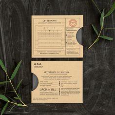 Envelop adres template 2nd Editon Lettermate meerleuks