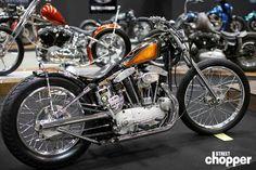 2015 Mooneyes Yokohama Custom Show - Photo:Ed Subias Sportster Chopper, Custom Sportster, Custom Harleys, Bobber, Harley Davidson Motorcycles, Custom Motorcycles, Custom Bikes, Photo Ed, Kustom Kulture