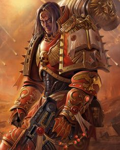 Warhammer 40k Lorgar, Primarch of the Word Bearers Chaos Space Marines
