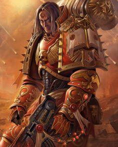 Warhammer 40k Lorgar, Primarch of the Word Bearers Chaos Space Marines
