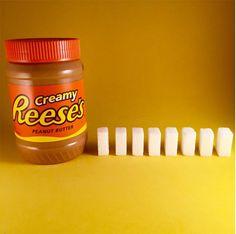 Quantidade de açúcar nos alimentos - Reese's;