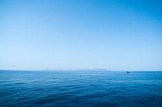 Sail away - Aegean sea, where Greek islands are.