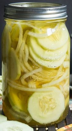 Quickles (Quick Pickled Cucumbers and Onions)