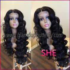 Find More Synthetic Wigs Information about Fast Shipping synthetic lace front wig loose wave Glueless Black 1B Heat Resistant Hair Wigs,High Quality Synthetic Wigs from SHE Lady House on Aliexpress.com