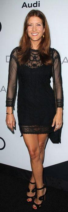 Kate Walsh: Dress - Isabel Marant Isabel Marant Embroidered cotton-mesh dress