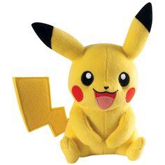 Du bist auch im #Pokémon Go Fieber? Dann ist der ca. 20cm große #Pikachu ein absolutes Muss! Kuscheln mit dem Pikachu-Plüschtier gratis! Ab 05.08. bei uns erhältlich! #pokemongo #gamefashion #empstyle