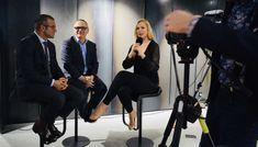 Davos, Blockchain, Interview, Tv, Television Set, Television