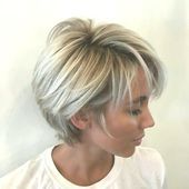 45 new pixie haircut ideas in 2019  Hairstyle Fix Short Hair With Layers, Short Hair Cuts For Women, Long Hair Cuts, Short Hairstyles For Women, Cool Hairstyles, Hairstyle Ideas, Cropped Hairstyles, Hair Ideas, Kinky Hairstyles