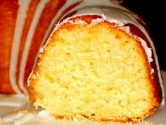 Don't waste your time on boxed cake mixes. Whip up a homemade rum cake from scratch for a dessert like none you've ever tasted before: light, moist, and exceptionally rummy. Lemon Bundt Cake, Rum Cake, Pound Cake, Sweet Recipes, Cake Recipes, Dessert Recipes, Simply Recipes, Tortas Light, Eggnog Cake