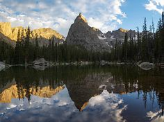 Lone Eagle Peak and Mirror Lake, Indian Peaks Wilderness, Colorado  Fine art prints by Aaron Spong  http://aaron-spong.artistwebsites.com/featured/lone-eagle-peak-and-mirror-lake-aaron-spong.html