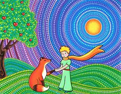The Little Prince and the Fox by Elspeth McLean