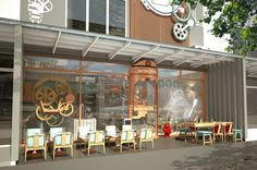 Once Upon A Cream Ice-cream Shop by MADA Design Factory