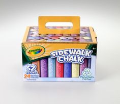 Crayola 52 Ct Chalk Carton $7.46  My kids loved sidewalk chalk--I can't wait to play with the grandbabies...