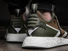 63c7d9141 adidas x White Mountaineering NMD PK (olive   weiß) - Sneakersky.