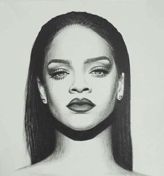 Dream Art Works by Dreameraddict Sketches, Celebrity Art Drawings, Rihanna Drawing, Celebrity Drawings, Drawing Sketches, Art, Celebrity Art, Portrait, Portrait Art