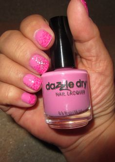 Dazzle Dry Paparazzi Pink Cancer Awareness