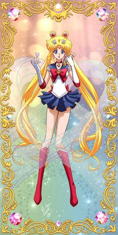 Sailor Moon Crystal by ElynGontier