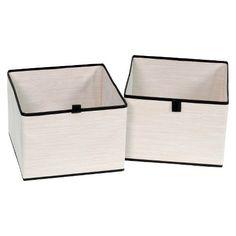 2pk Drawers for Closet Organizer - Shell - Threshold™