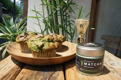Buy Vegan, Gluten-Free, Sugar-Free Matcha and Hemp Seed Muffins at Marugo Deli in Ebisu! https://healthytokyo.com/blog/buy-healthytokyo-organic-matcha-muffins-marugo-deli-ebisu/