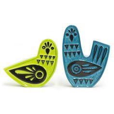 Because everybody needs a pair of Love Doves. Porcelain Salt & Pepper Shakers | Jonathan Adler