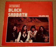 Black Sabbath – Attention Black Sabbath Volume One lp vinyl record