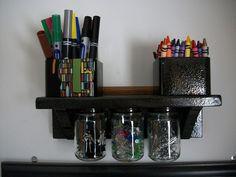 baby food jar shelf to-make