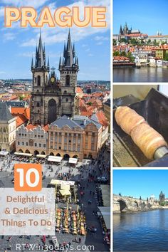 """Nicknamed """"the City of a Hundred Spires,"""" as you gaze over the historic Czech capital from above you might wonder if someone undercounted. And gaze over it you should, from one of Prague's soaring Gothic towers or perhaps the world's largest ancient castle. Unlike many European capitals, Prague escaped the ravages of World War II with most of its original Gothic, Baroque, and Renaissance architecture intact. Here are the top things to see, do ( Best Romantic Getaways, Best Weekend Getaways, Romantic Travel, Best Solo Travel Destinations, Romantic Destinations, Prague Things To Do, Prague Travel, Renaissance Architecture, European Destination"""
