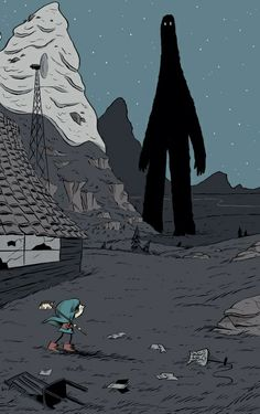 "Graphic Novel für den Nachwuchs: »Hilda« von Luke Pearson  ""Hilda and the Midnight Giant"""