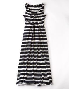 I've spotted this @BodenClothing Jersey Maxi Dress Navy/Ivory Stripe