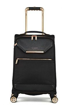 Ted Baker Women's Albany Softside Luggage, Suitcase Collection (Black, Carry-On) Cute Luggage, Carry On Luggage, Luggage Sets, Travel Luggage, Travel Bags, Luggage Suitcase, Cabin Suitcase, Luxury Luggage, Travel Items