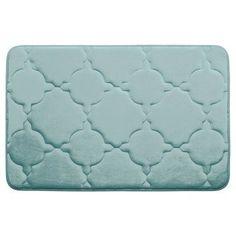 "Bath Studio Dorothy Premium Micro Plush Memory Foam Bath Mat Color: Dark Grey, Size: 24"" x 17"""