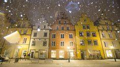Heftiger Schneefall am Donnerstag in Osnabrück. Foto: Michael Gründel