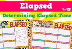 Elapsed - A Game of Calculating Duration