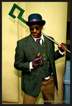 X Character: The Riddler Series: DC Comics