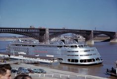 Admiral on the St. Louis riverfront, ca. 1950 by Missouri History Museum, via Flickr