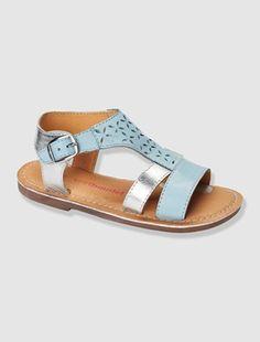 ¡Los colores y motivos convierten a esta sandalia en una auténtica joya para los pies!  COMPOSICIÓN Exterior: piel. Interior: piel. Plantilla: piel. S