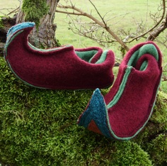 Ruby Elf Slippers from trnka on etsy