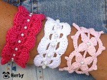 Häkelanleitung: Süße Armbänder mit Perlen, Schmuck