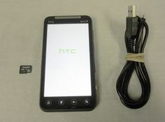 HTC EVO 3D 1GB Plum PG86100 (Sprint) Smartphone w/ Charger & 8GB SD Card Bundle