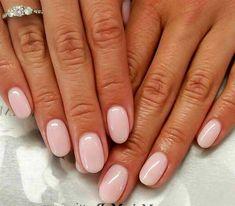 Pink nails – Your Nails – Ombre Nails – Accent Nails Vernis Rose Pale, Nagellack Design, Dermal Fillers, Nagel Gel, Cool House Designs, Short Nails, Short Natural Nails, Wedding Nails, Nail Inspo