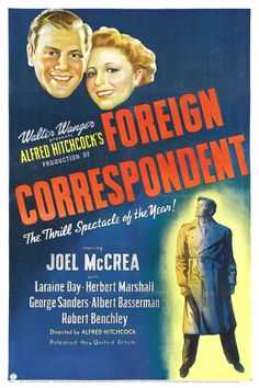 1940 suspense directed by Alfred Hitchcock!