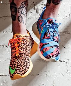 #nike #print #colour #trainers #footwear #fashion