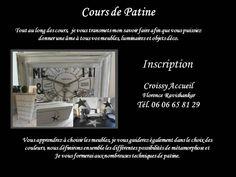 Atelier patine 1 lundi par mois     de 9h á 16h inscription á l'année soit 9 cours ( 290€) Par l'atelierdes4saisons