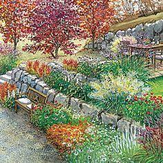 Zwei Ideen Für Einen Hanggarten | Mein Gärtchen | Pinterest | Vorher  Nachher, Blickfang Und Straßen