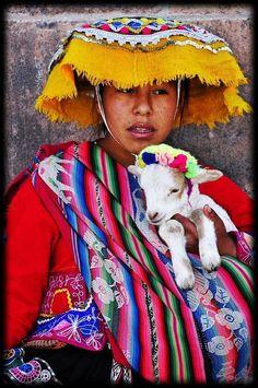 Estamos en Perú, donde la mujer vive su cultura